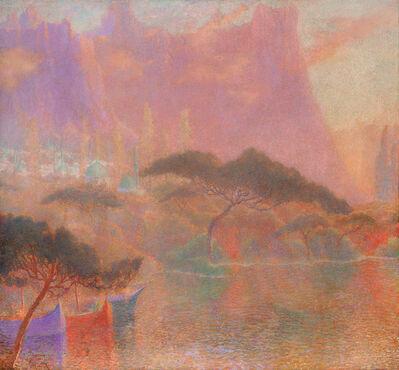 Lucien Lévy-Dhurmer, 'La fantaisie orientale', 1921