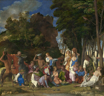 Giovanni Bellini, 'The Feast of the Gods', 1514/1529