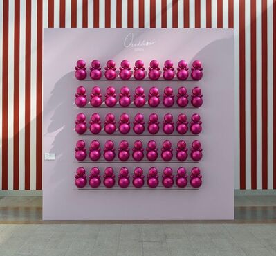 "Gregory Orekhov, 'Panel ""Agathas in pink ""', 2018"