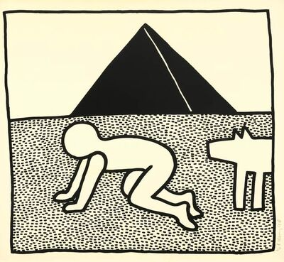 Keith Haring, 'The Blueprint Drawings #17', 1990