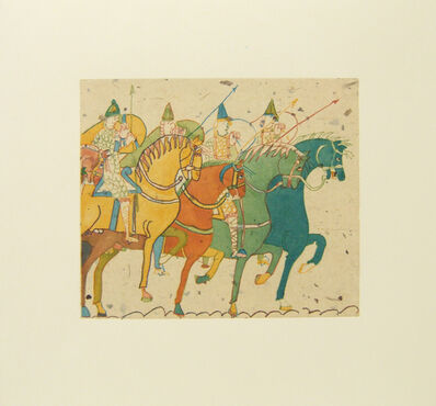 Laura Owens, 'Untitled (Horses)', 2006