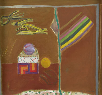 Elizabeth Blackadder, 'Still Life with Ribbons', 1974