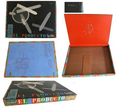 "Paul Rand, '""El Producto"", Cigar Box, Designed by Both Paul Rand and Man Ray, EXTREMELY RARE.', 1960's"