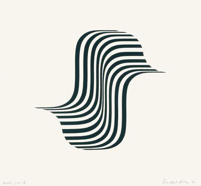 Bridget Riley, 'Winged Curve', 1966