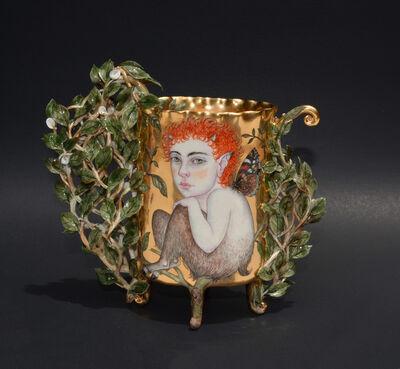 Irina S. Zaytceva, 'Forest Child, Vase', 2017