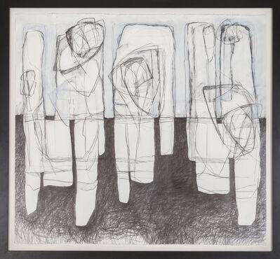 David Dew Bruner, 'Three Figures', 2018
