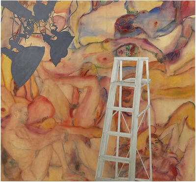 Martha Edelheit, 'Flesh Wall with Ladder', 1965