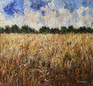 Samir Sammoun, 'Wheat Field', 2016