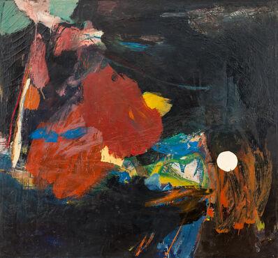 Robert S. Neuman, 'Square Black Painting', 1956