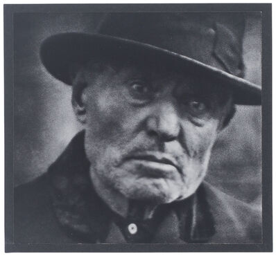 Paul Strand, 'Man, Five Points Square, New York', 1916