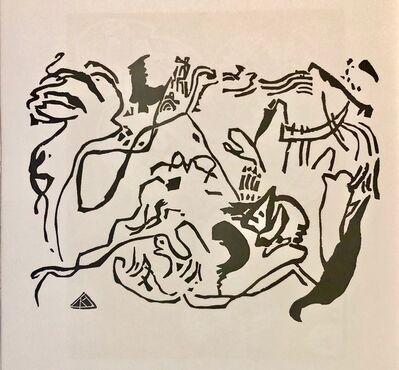 "Wassily Kandinsky, '""Judgement Day"" Wood Engraving for Klaenge', 1975"