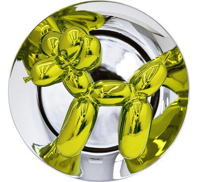 Jeff Koons, 'Balloon Dog Plate (Yellow)', 2015