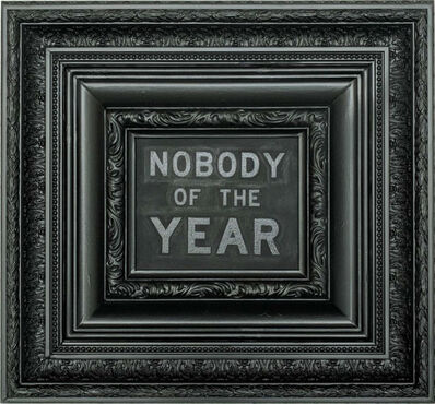 Archie Scott Gobber, 'Nobody of the Year', 2018