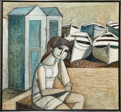 Lucio Ranucci, 'Woman with Boats', 1973