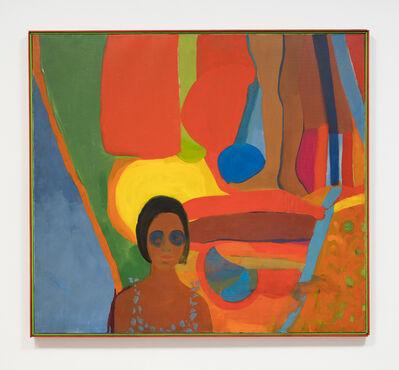 Emma Amos, 'Baby', 1966