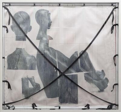 Yorgos Sapountzis, 'Nacktes Erbe: Hockender Junge; Sitzender Knabe, 1947/48', 2017