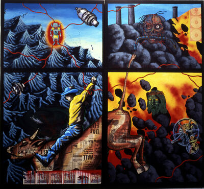 David Wojnarowicz, 'The Death of American Spirituality', 1987