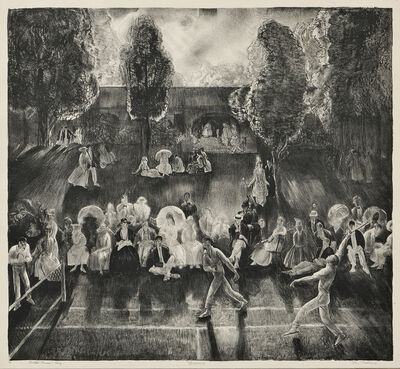 George Wesley Bellows, 'Tennis', 1920