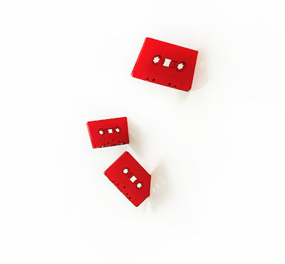 Lyle Owerko, 'Cassettes (Red, Set of 5)', 2016