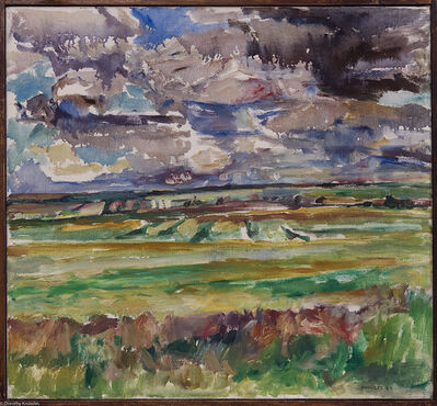 Dorothy Knowles, 'Showers Over the Prairie (OC-6-64)', 1964
