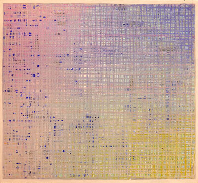 Ejay Weiss, 'Runnel Painting', 1996