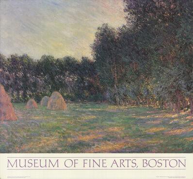 Claude Monet, 'Meadow with Haystacks Near Giverny', 1985