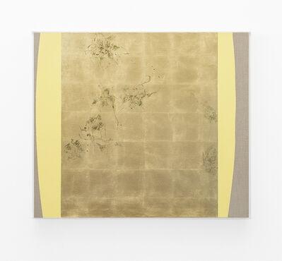 Pierre Vermeulen, 'Hair orchid sweat print, yellow form', 2018