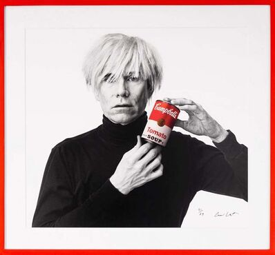 Andrew Unangst, 'Andy Warhol with Red Campbell's Soup', 1985/2018