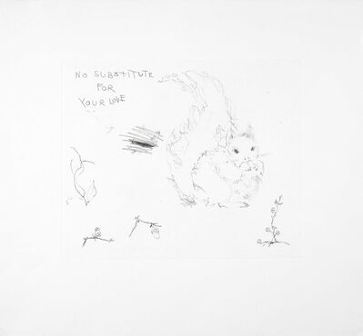 Tracey Emin, 'No Substitute For Your Love', 2003