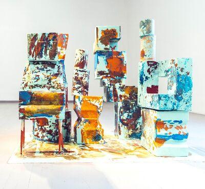 Aidas Bareikis, 'Mound garden', 2019