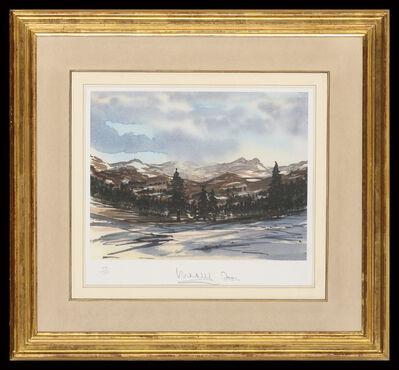 HRH Prince of Wales, 'Balmoral Winter Scene', 2001