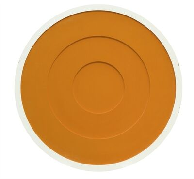 Anish Kapoor, 'Wounds and Absent Objects, Orange Circle', 1996