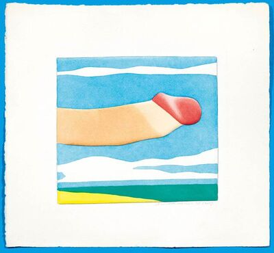 Tom Wesselmann, 'Seascape Prick', 1978