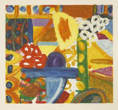 Gillian Ayres, 'Sikar Ii', 1993