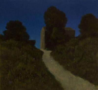 MICHAEL BENNALLACK HART, ' Fireflies, Old Perithia, Corfu'