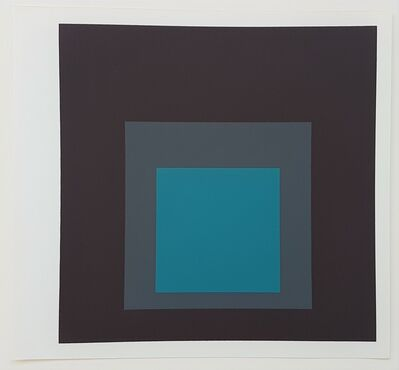 Josef Albers, 'Homage to the Square', 1973