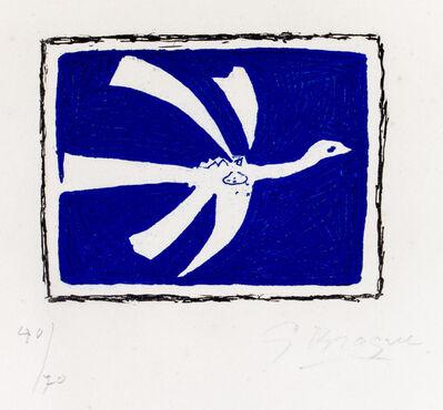 Georges Braque, 'Août (L'Oiseau)', 1958