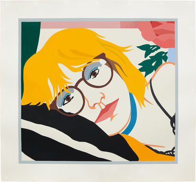 Tom Wesselmann, 'From Brown Eyes Under Glass', 1985