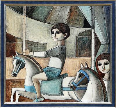 Lucio Ranucci, 'Les Chevause de bois', 1972