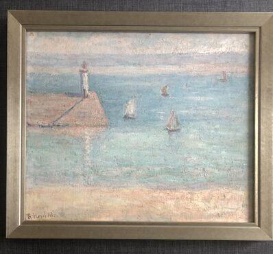 Blanche Hoschedé-Monet, 'Light House of Dielette', 1888-1930