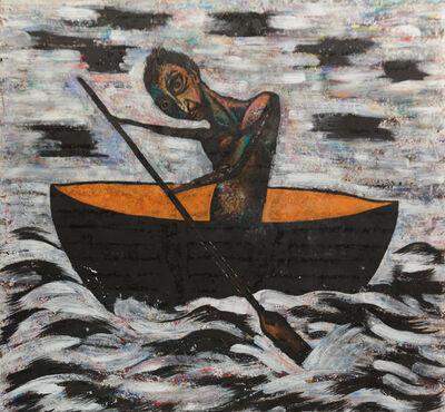 Luis Cruz Azaceta, 'The Journey', 1986