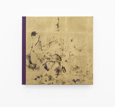Pierre Vermeulen, 'Big hair orchid sweat print, violet scape', 2018