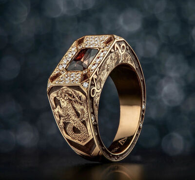 Buddy Austin, 'Rose Gold Ring', 2018