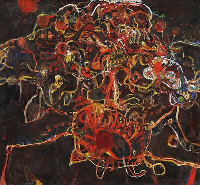 John Olsen (b.1928), 'Man Obsessed with the Sun', 1964
