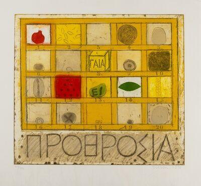 Joe Tilson, 'Prorosia', 1978