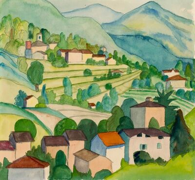 Hermann Hesse, 'Cortivallo', 1927