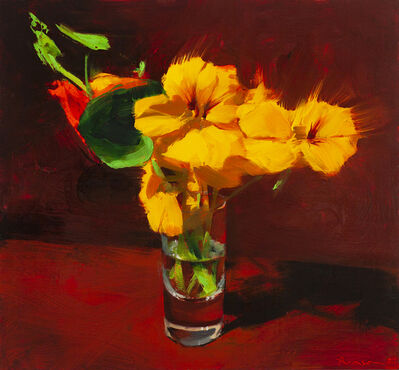 Ben Aronson, 'Yellow Nasturtiums', 2021
