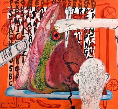 yoohee, 'fish head', 2019