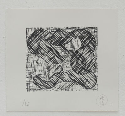 Richard Deacon, '1+1=10 Black/Black', 2013
