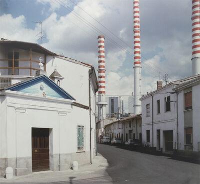 Luigi Ghirri, 'Ostiglia (Serie: Il profilo delle nuvole)', 1985-1989
